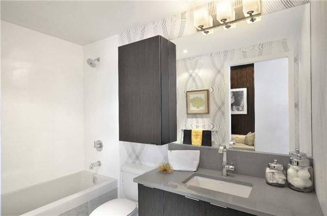 Condo Apartment at 65 Grand Magazine St, Unit 812, Toronto, Ontario. Image 5
