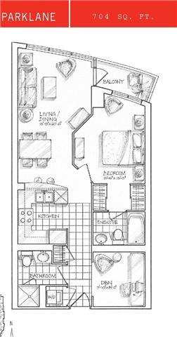 Condo Apartment at 18 Yonge St, Unit 902, Toronto, Ontario. Image 2