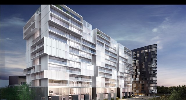 Condo Apartment at 32 Trolley Cres, Unit 722, Toronto, Ontario. Image 1