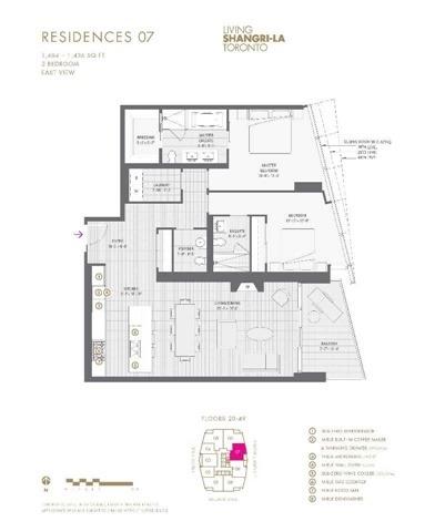 Condo Apartment at 180 University Ave, Unit 2807, Toronto, Ontario. Image 8