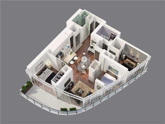 Condo Apartment at 14 York St, Unit 5503, Toronto, Ontario. Image 10