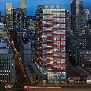 Condo With Common Elements at 219 Queen St W, Unit 2205, Toronto, Ontario. Image 1