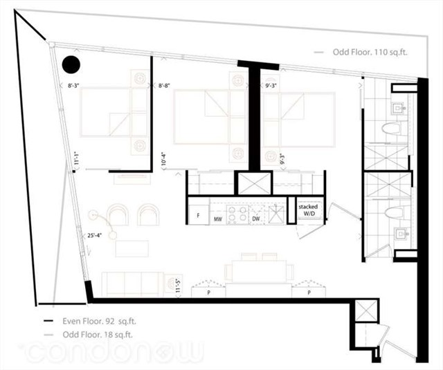 Condo With Common Elements at 219 Queen St W, Unit 2205, Toronto, Ontario. Image 2