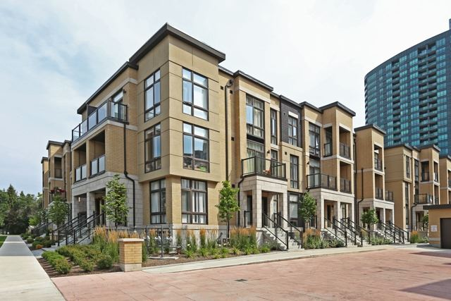 Condo Townhouse at 23 Eldora Ave, Unit 104, Toronto, Ontario. Image 1