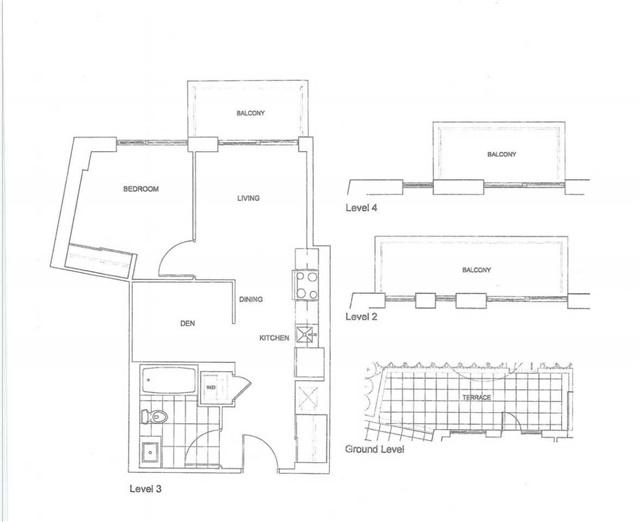 Condo Apartment at 128 Fairview Mall Dr, Unit 409, Toronto, Ontario. Image 2