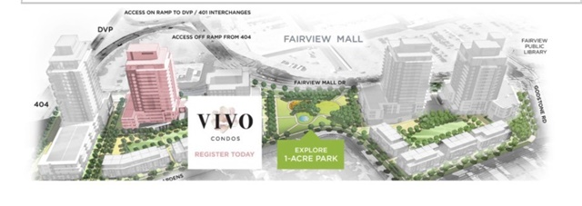 Condo Apartment at 128 Fairview Mall Dr, Unit 409, Toronto, Ontario. Image 7