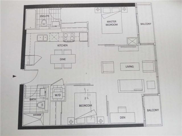Condo Apartment at 8 Telegram Mews, Unit 1706, Toronto, Ontario. Image 12