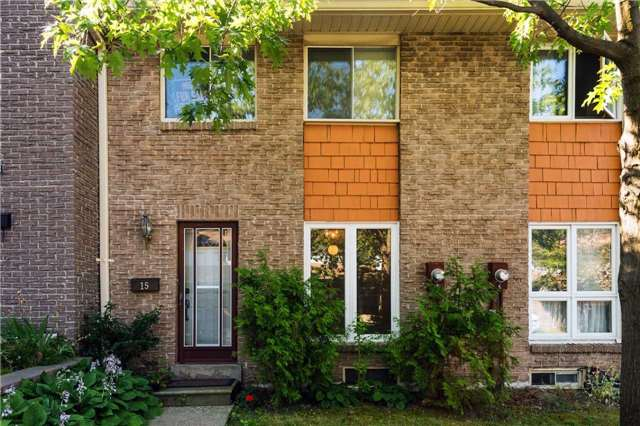 Condo Townhouse at 15 Lady Fern Way, Toronto, Ontario. Image 1