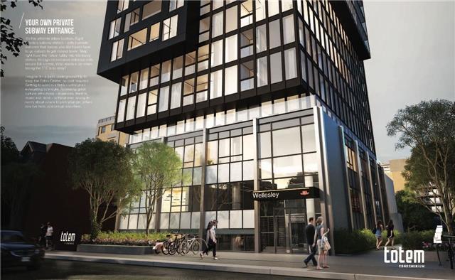 Condo Apartment at 17 Dundonald St, Unit 307, Toronto, Ontario. Image 1