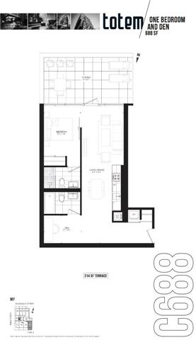 Condo Apartment at 17 Dundonald St, Unit 307, Toronto, Ontario. Image 3