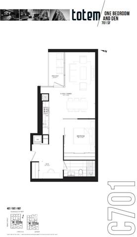 Condo Apartment at 17 Dundonald St, Unit 507, Toronto, Ontario. Image 3
