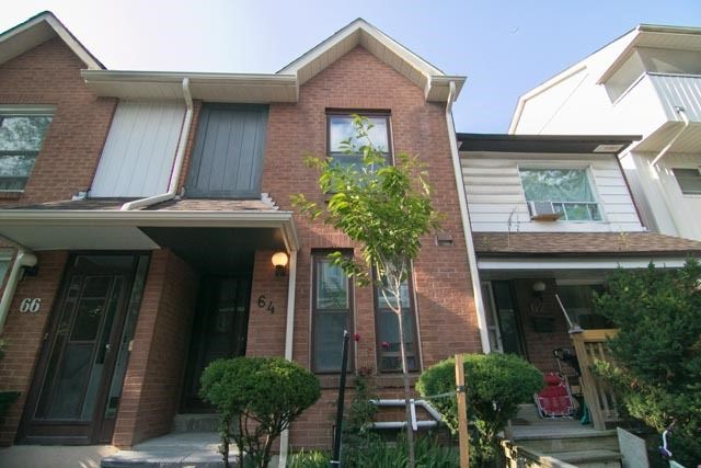 Townhouse at 64 Wychcrest Ave, Toronto, Ontario. Image 1