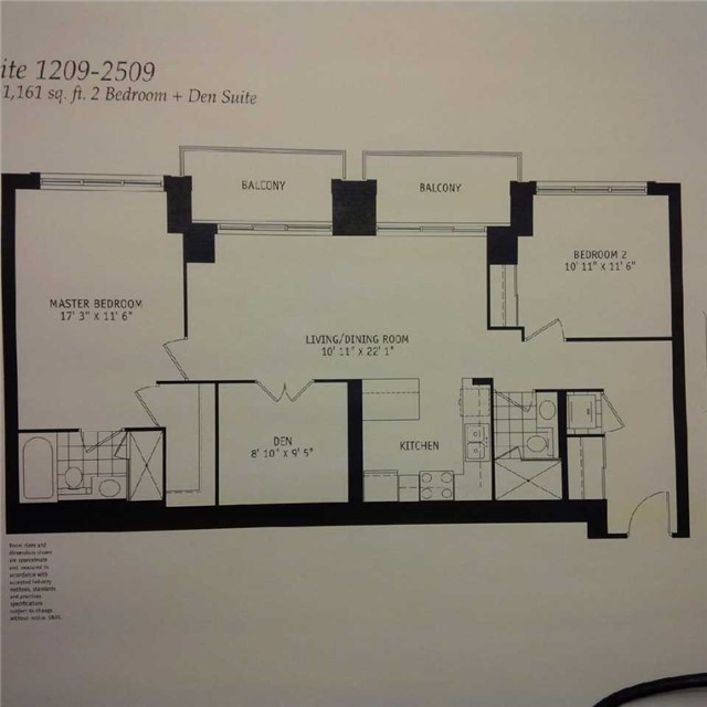 Condo Apartment at 21 Grand Magazine St, Unit 2309, Toronto, Ontario. Image 7