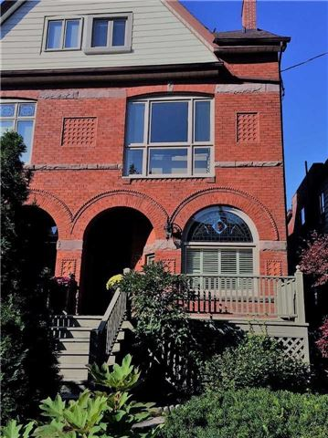 Semi-detached at 486 Euclid Ave, Toronto, Ontario. Image 1