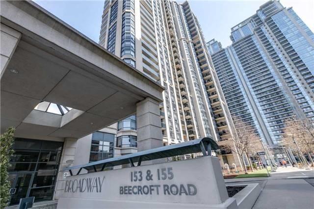 Condo Apartment at 155 Beecroft Rd, Unit 215, Toronto, Ontario. Image 12