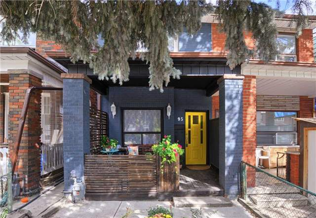Semi-detached at 95 Palmerston Ave, Toronto, Ontario. Image 1