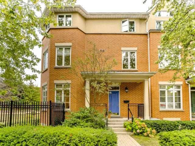 Condo Townhouse at 53 Shaftesbury Ave, Toronto, Ontario. Image 1