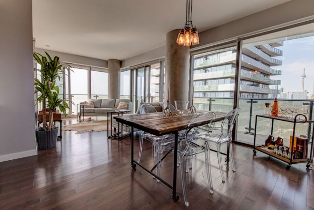 Condo Apartment at 390 Cherry St, Unit 1910, Toronto, Ontario. Image 14