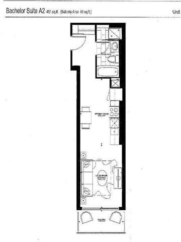 Condo Apartment at 10 Willison Sq, Unit 205, Toronto, Ontario. Image 2