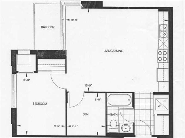 Condo Apartment at 17 Anndale Dr, Unit 517, Toronto, Ontario. Image 4