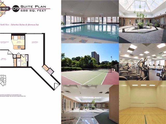Condo Apartment at 7 Concorde Pl, Unit 209, Toronto, Ontario. Image 9