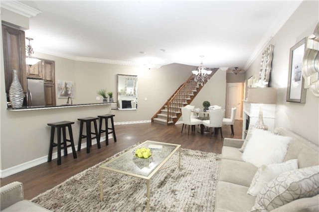 Condo Townhouse at 17 Barberry Pl, Unit Th120, Toronto, Ontario. Image 17