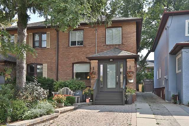 Semi-detached at 95 Lawrence Ave W, Toronto, Ontario. Image 1