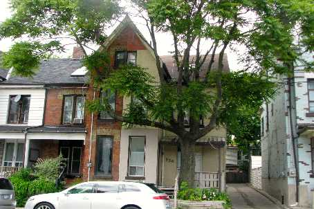 Townhouse at 930 Dundas St E, Toronto, Ontario. Image 1