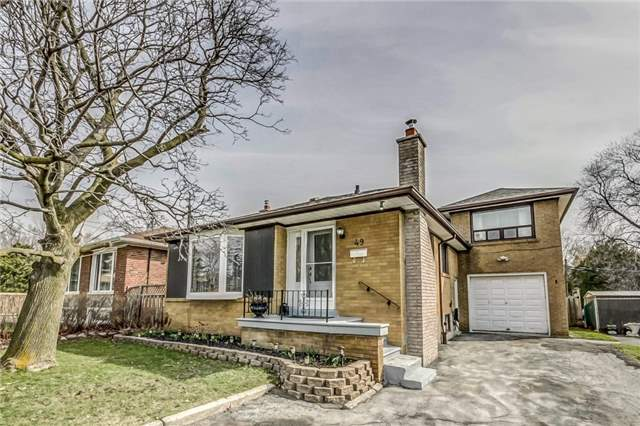 Detached at 49 Mossbank Dr, Toronto, Ontario. Image 1