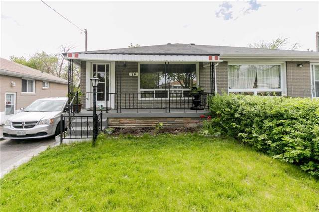 Semi-detached at 74 Birkdale Rd, Toronto, Ontario. Image 1