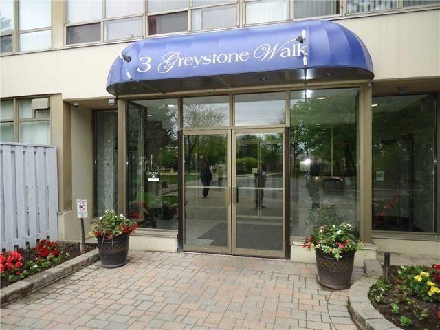 Condo Apartment at 3 Greystone Walk Dr, Unit 423, Toronto, Ontario. Image 1