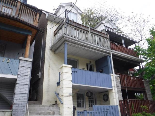 Semi-detached at 669 Woodbine Ave, Toronto, Ontario. Image 1
