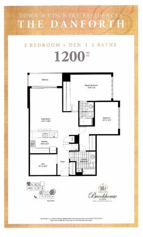 Condo Apartment at 21 Brookhouse Dr, Unit 414, Clarington, Ontario. Image 2