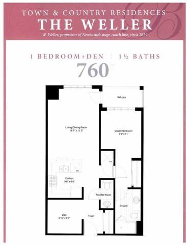 Condo Apartment at 21 Brookhouse Dr, Unit 209, Clarington, Ontario. Image 2