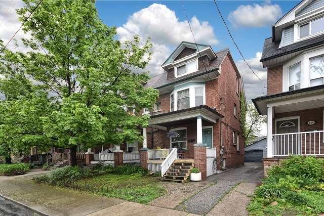 Semi-detached at 233 Woodbine Ave, Toronto, Ontario. Image 1