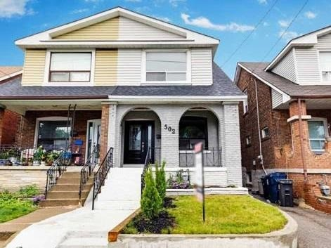 Semi-detached at 502 Glebeholme Blvd, Toronto, Ontario. Image 1