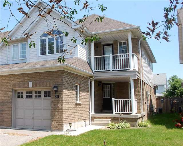 Semi-detached at 80 Regatta Cres, Whitby, Ontario. Image 1