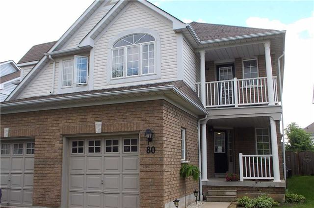 Semi-detached at 80 Regatta Cres, Whitby, Ontario. Image 12