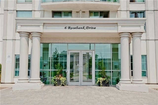 Condo Apartment at 6 Rosebank Dr, Unit 7E, Toronto, Ontario. Image 4