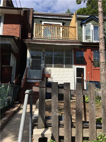 Semi-detached at 324 Woodfield Rd, Toronto, Ontario. Image 1