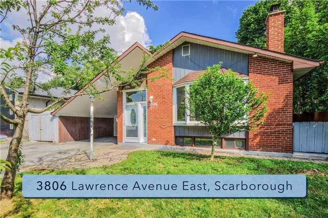 Detached at 3806 Lawrence Ave E, Toronto, Ontario. Image 11