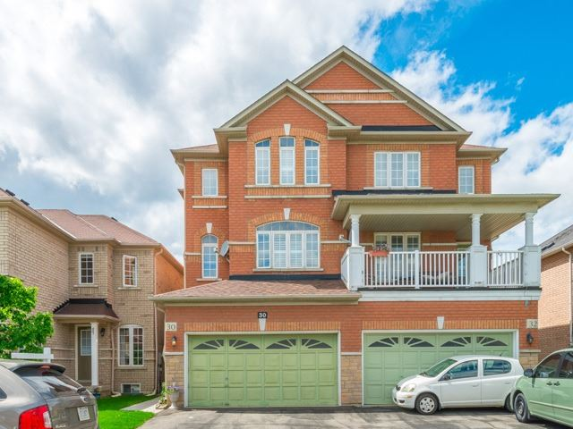 Semi-detached at 30 Flatfield Terr, Toronto, Ontario. Image 1