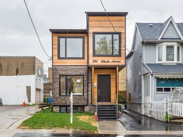 Detached at 281 Rhodes Ave, Toronto, Ontario. Image 1