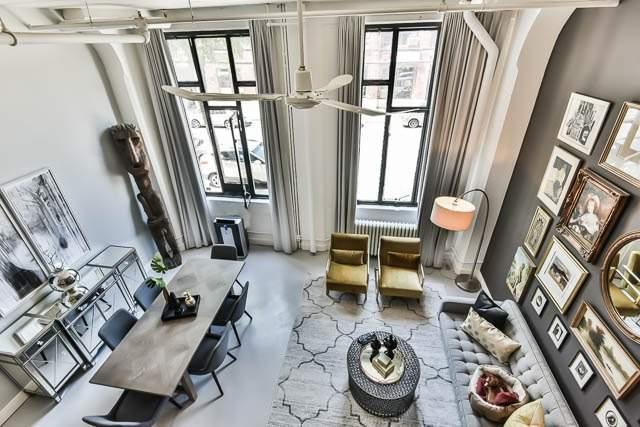 Condo Apartment at 245 Carlaw Ave, Unit 101B, Toronto, Ontario. Image 1
