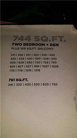 Condo Apartment at 1190 Dundas St E, Unit 730, Toronto, Ontario. Image 3
