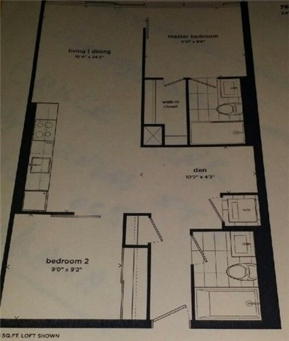 Condo Apartment at 1190 Dundas St E, Unit 730, Toronto, Ontario. Image 5