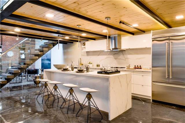 Condo Apartment at 326 Carlaw Ave, Unit 122, Toronto, Ontario. Image 9