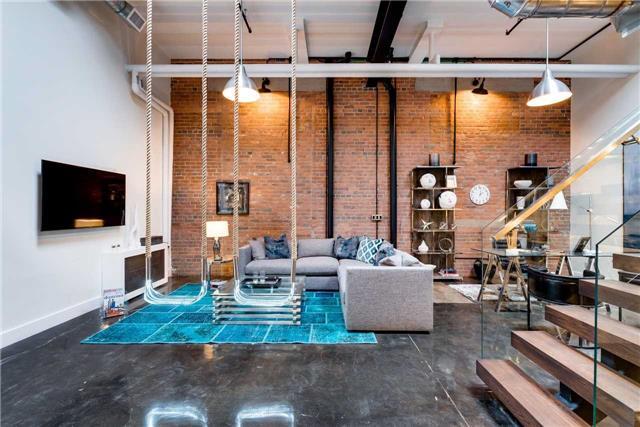 Condo Apartment at 326 Carlaw Ave, Unit 122, Toronto, Ontario. Image 10