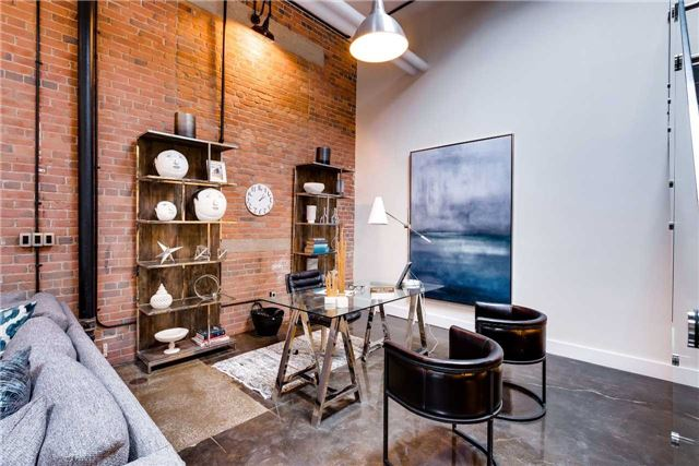 Condo Apartment at 326 Carlaw Ave, Unit 122, Toronto, Ontario. Image 11
