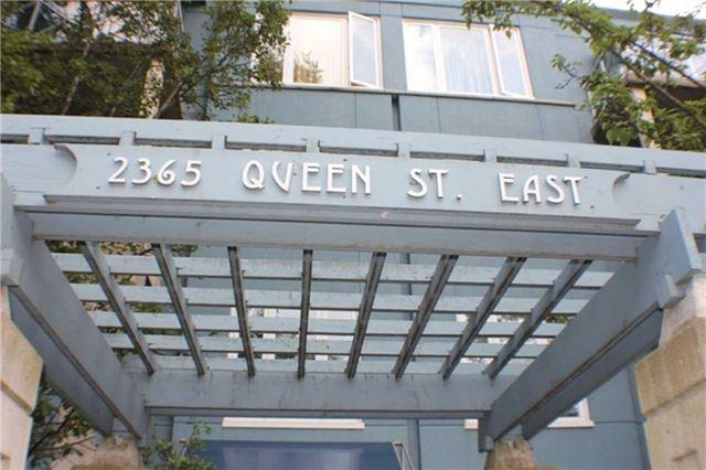 Condo Apartment at 2365 Queen St E, Unit 201, Toronto, Ontario. Image 1